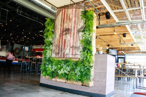 Green Walls – Draft Republic Art Wall