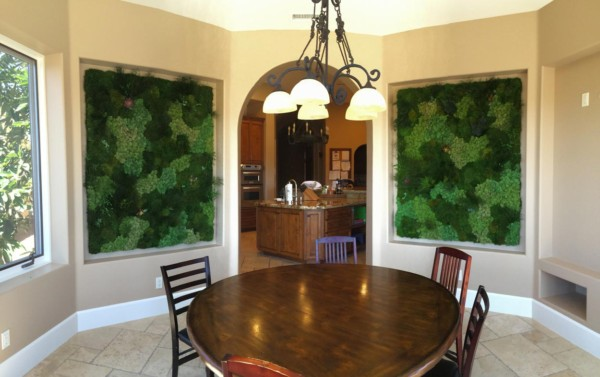 Moss Wall Interior – Residential Design