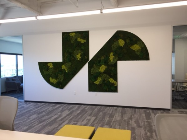 Branding with Custom Living Walls